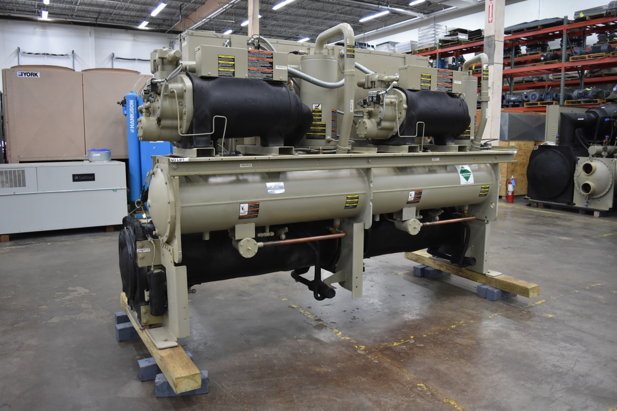 100 Ton Trane Water-Cooled Chiller Surplus Group