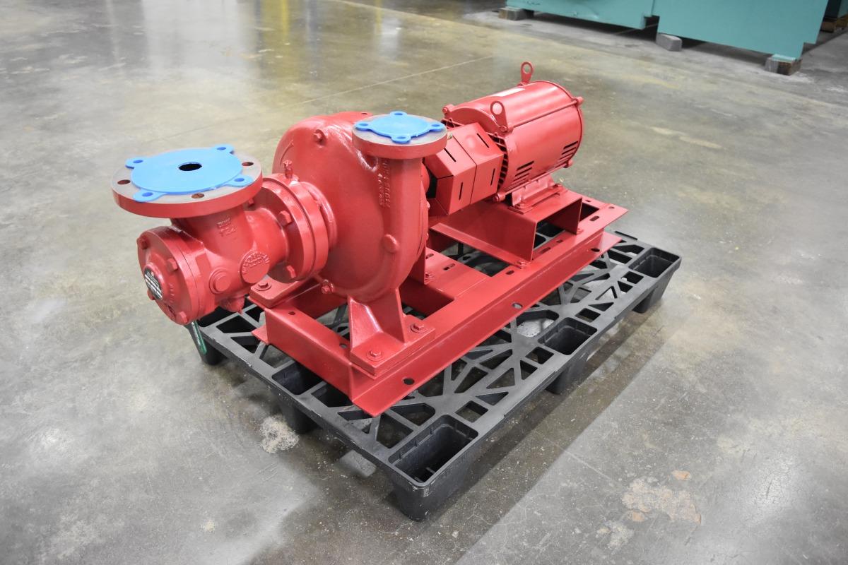 10 HP Bell & Gossett Centrifugal Pump Surplus Group