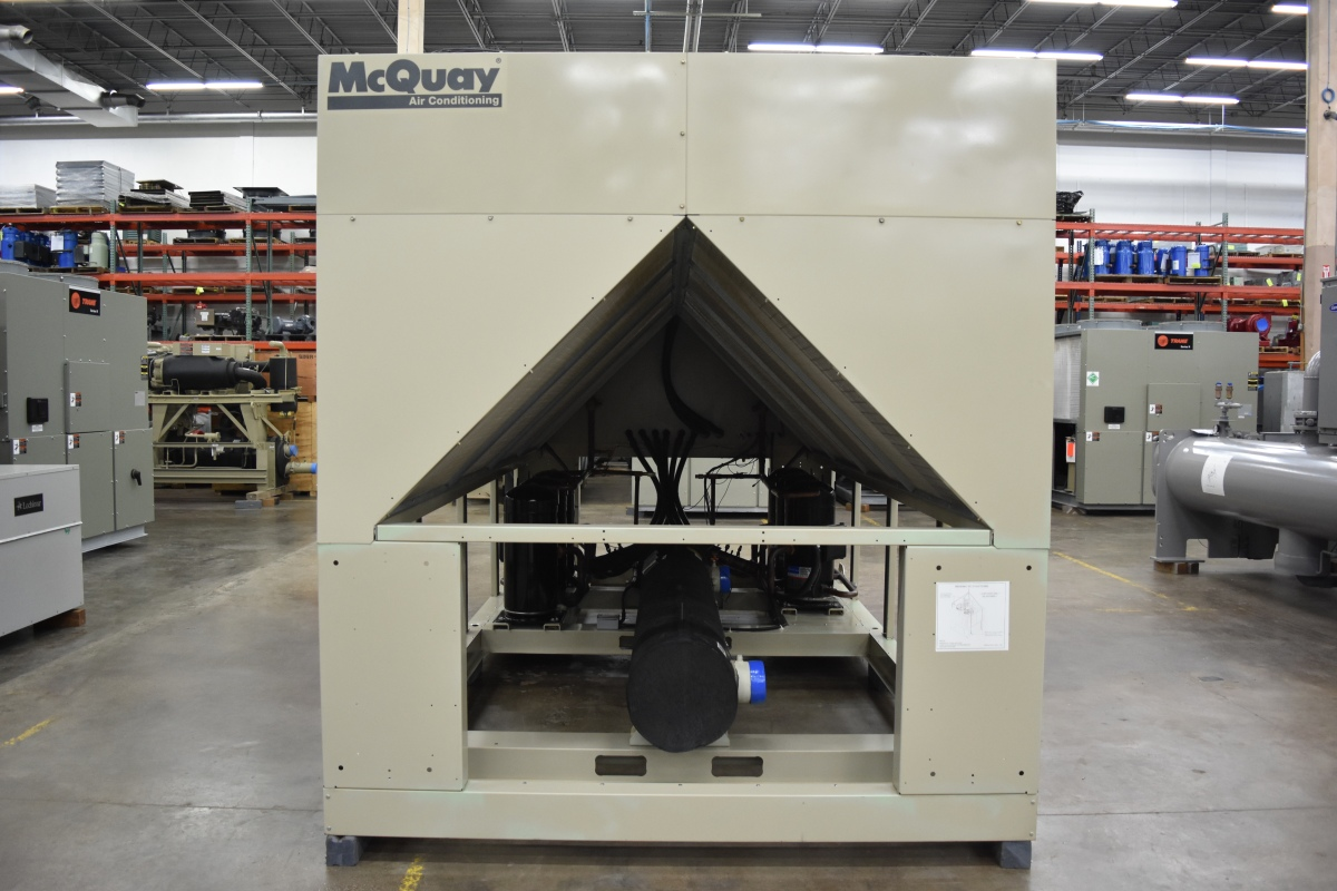 110 Ton McQuay Air-Cooled Chiller Surplus Group