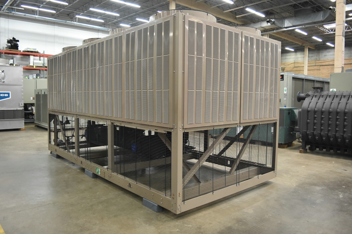 116 Ton York Air-Cooled Chiller Surplus Group