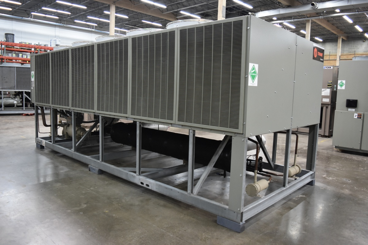 125 Ton Trane Air-Cooled Chiller Surplus Group