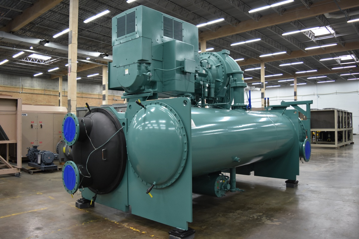 1500 Ton York Water-Cooled Chiller Surplus Group