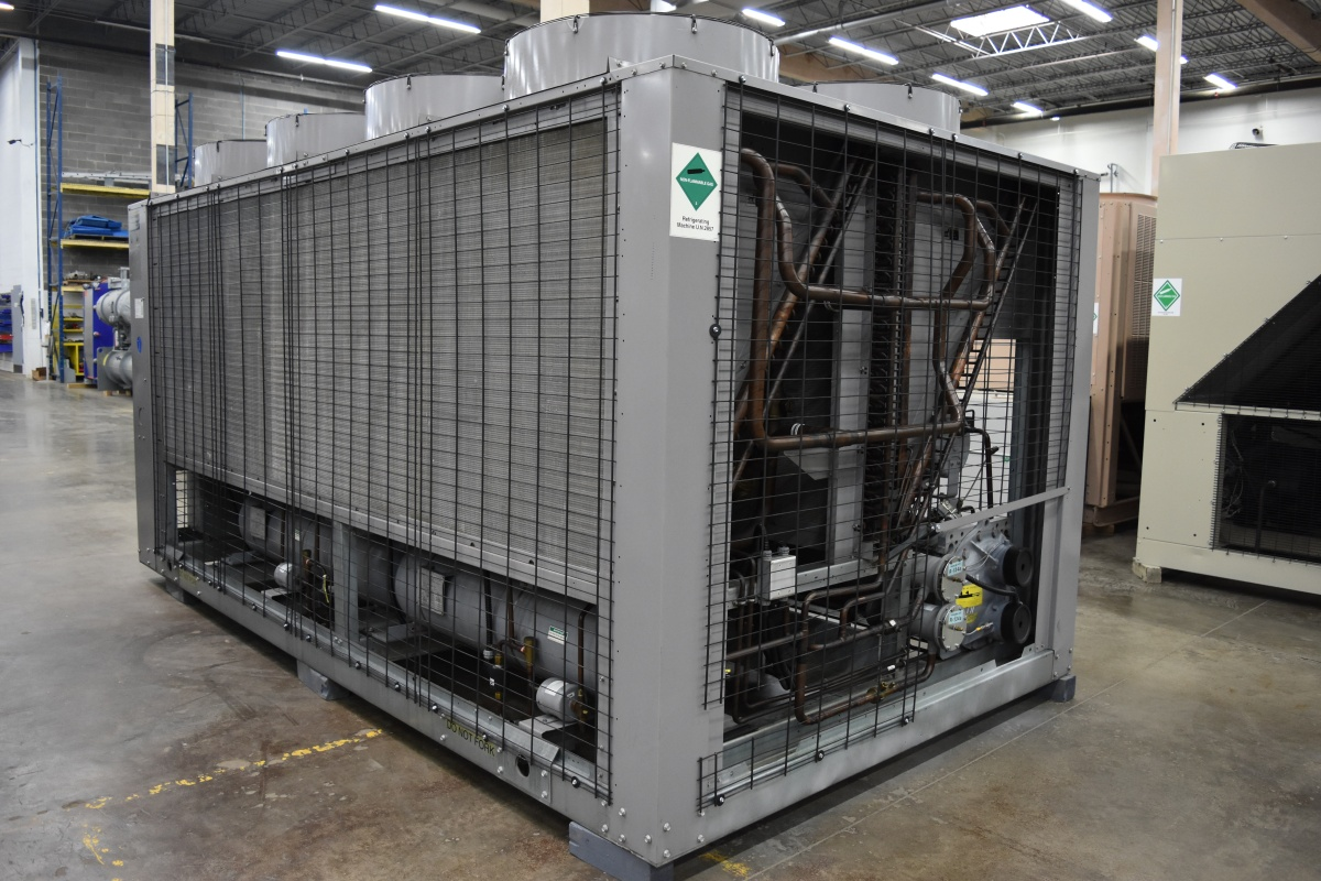 150 Ton Carrier Air-Cooled Chiller Surplus Group