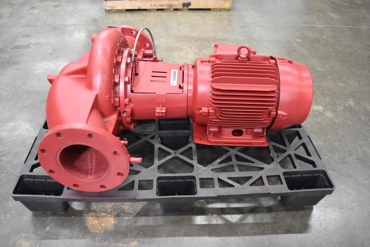 15 HP Armstrong Centrifugal Pump Surplus Group
