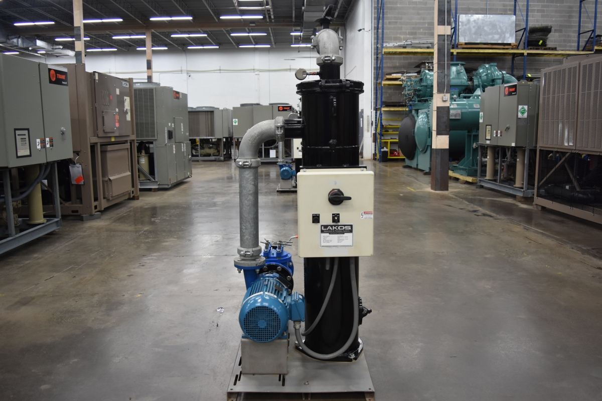 15 HP LAKOS Separator & Filtration System Surplus Group