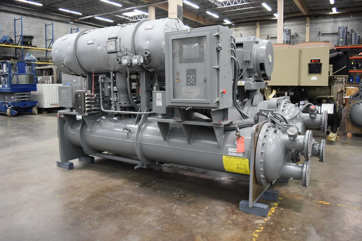 188 Ton York Water-Cooled Chiller Surplus Group