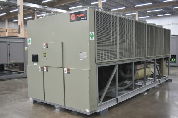 200 Ton Trane Air-Cooled Chiller Surplus Group