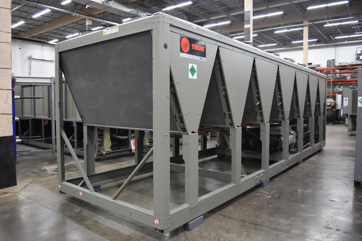 200 Ton Trane Air-Cooled Chiller Surplus Group