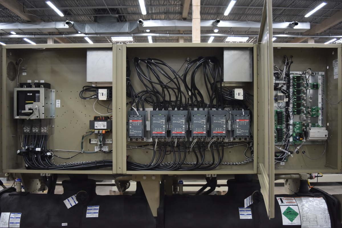 200 Ton Trane Water-Cooled Chiller Surplus Group
