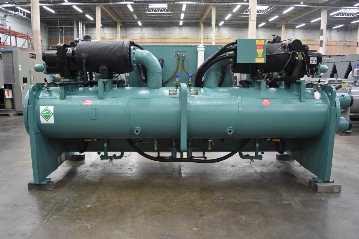 200 Ton Water-Cooled York Chiller Surplus Group