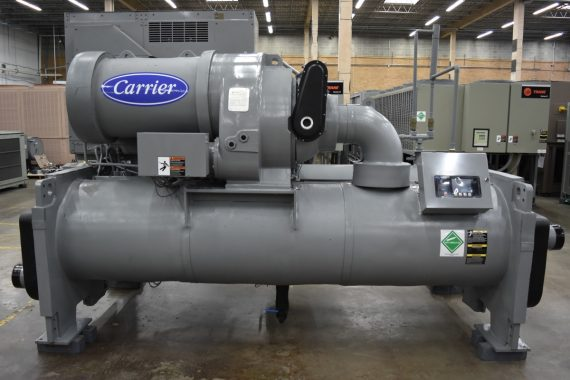205 Ton Carrier Water-Cooled Chiller Surplus Group