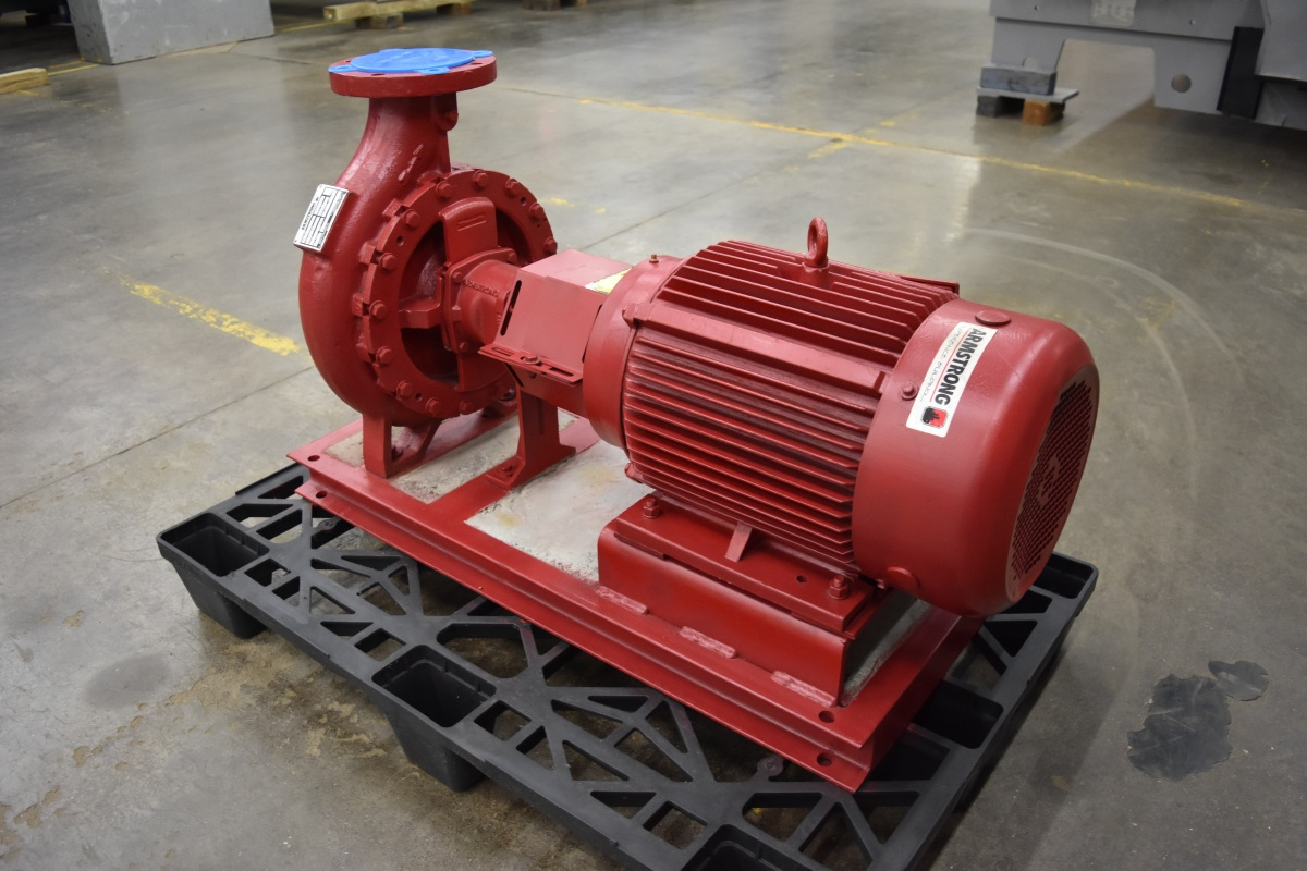 20 HP Armstrong Centrifugal Pump Surplus Group