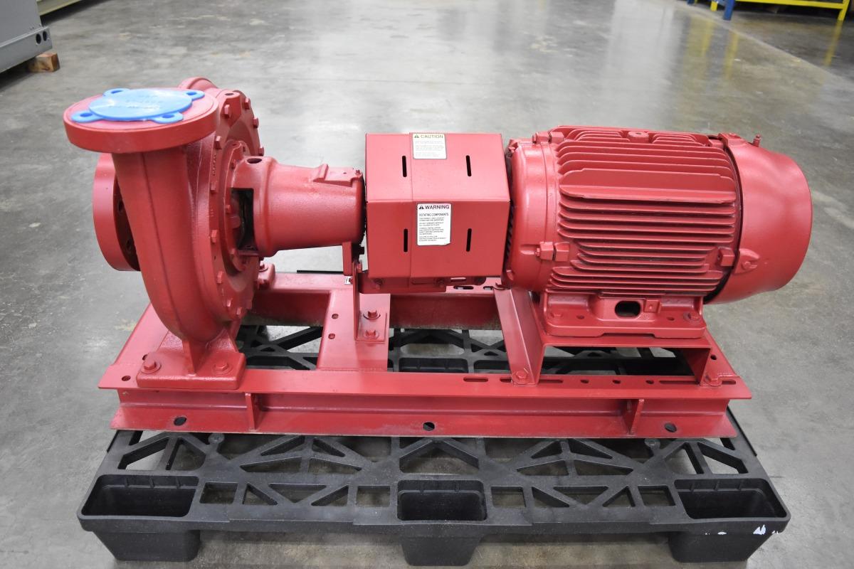 20 HP Bell & Gossett Centrifugal Pump Surplus Group