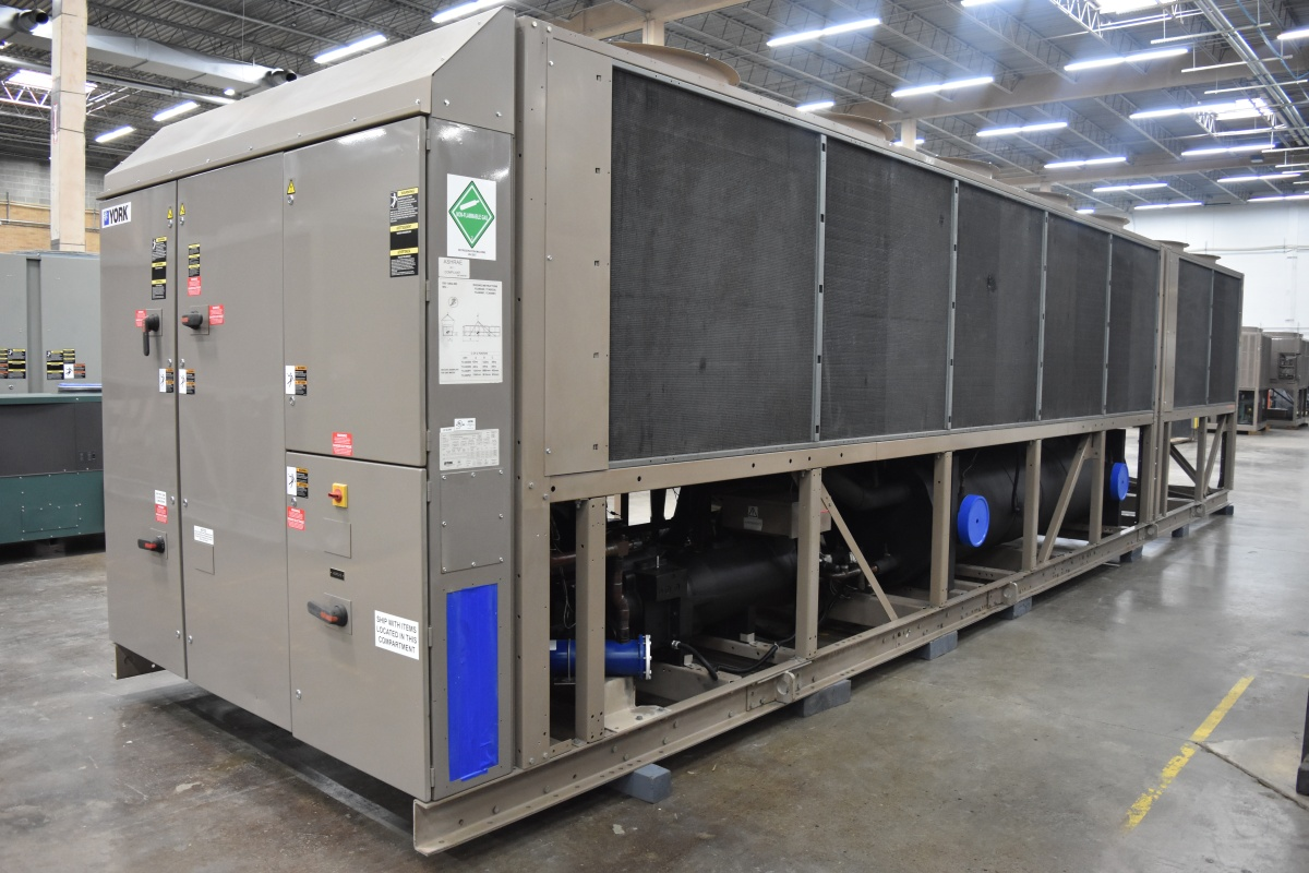 330 Ton York Air-Cooled Chiller Surplus Group