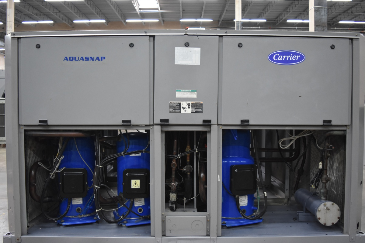 40 Ton Carrier Air-Cooled Chiller Surplus Group