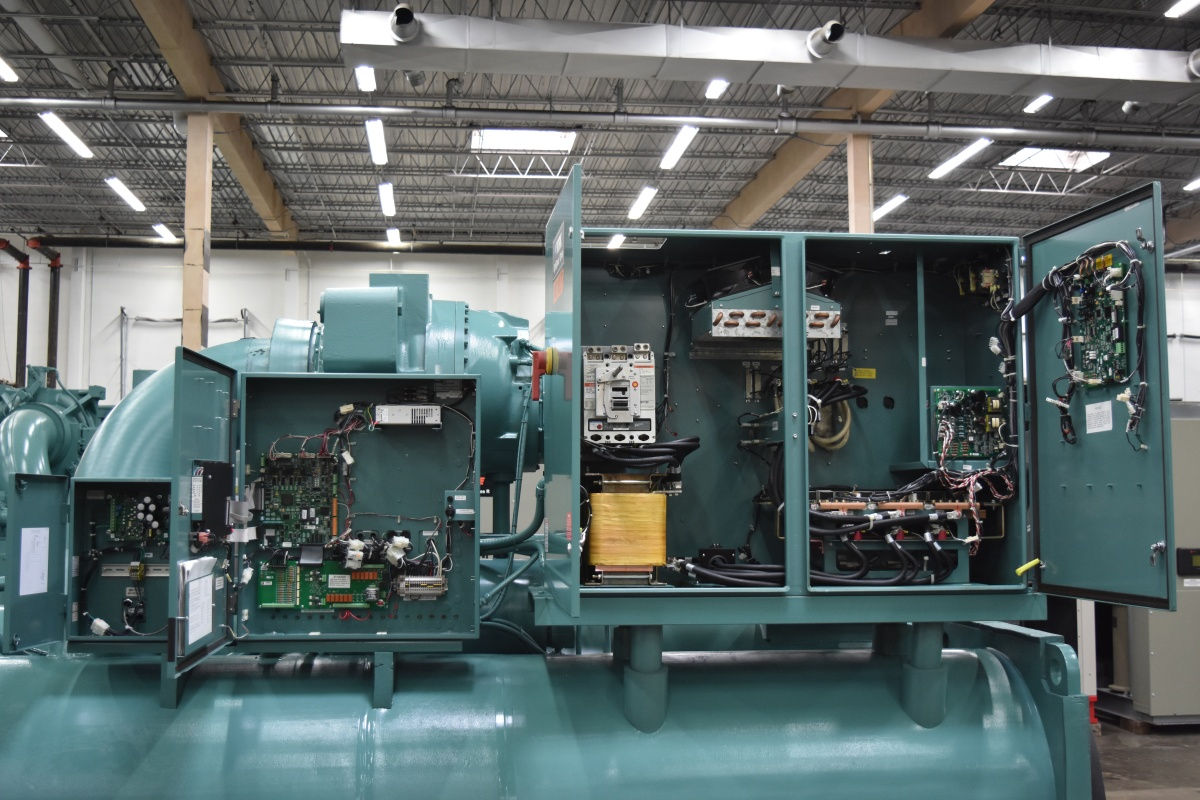 500 Ton York Water-Cooled Chiller Surplus Group