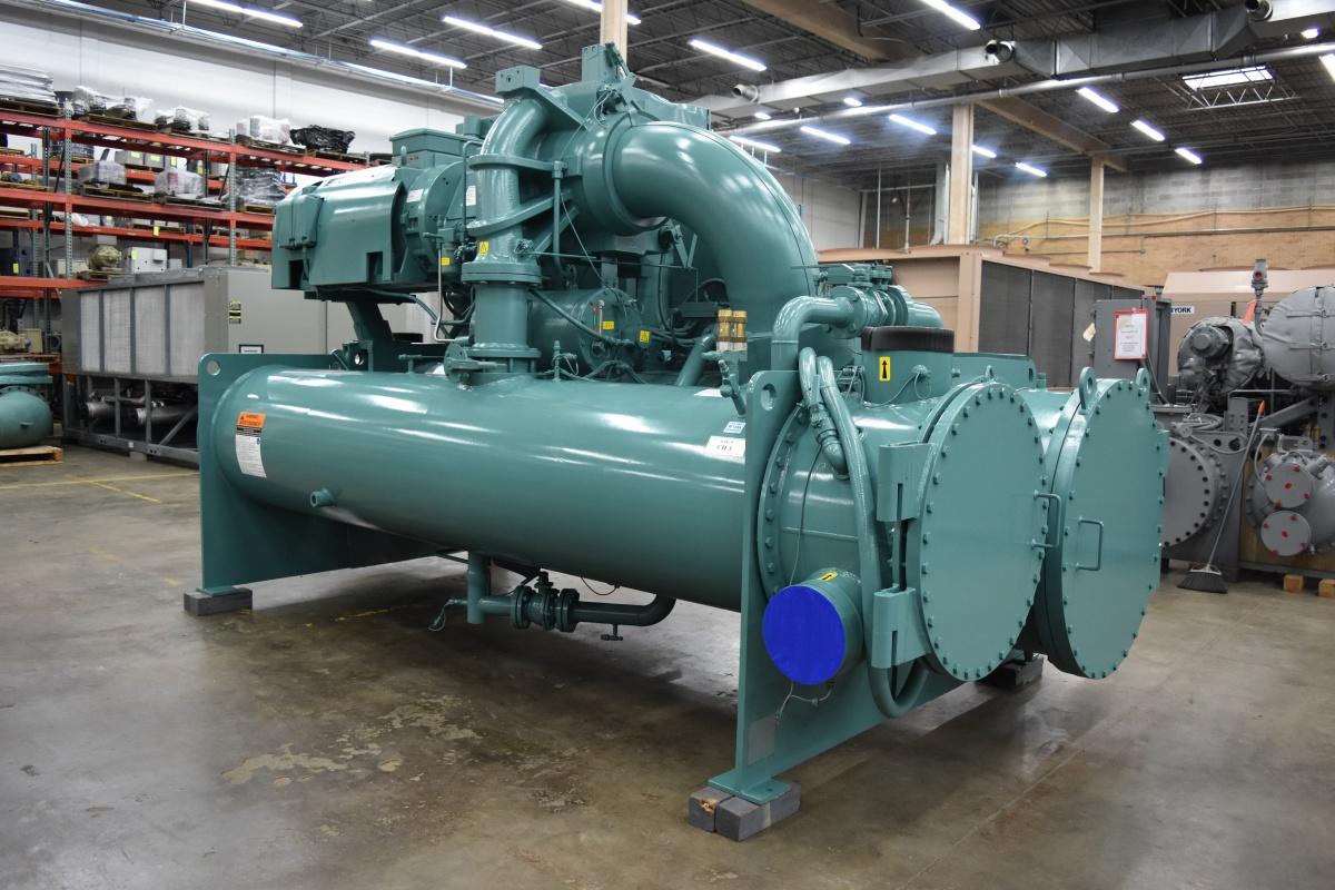 650 Ton Water-Cooled York Chiller Surplus Group
