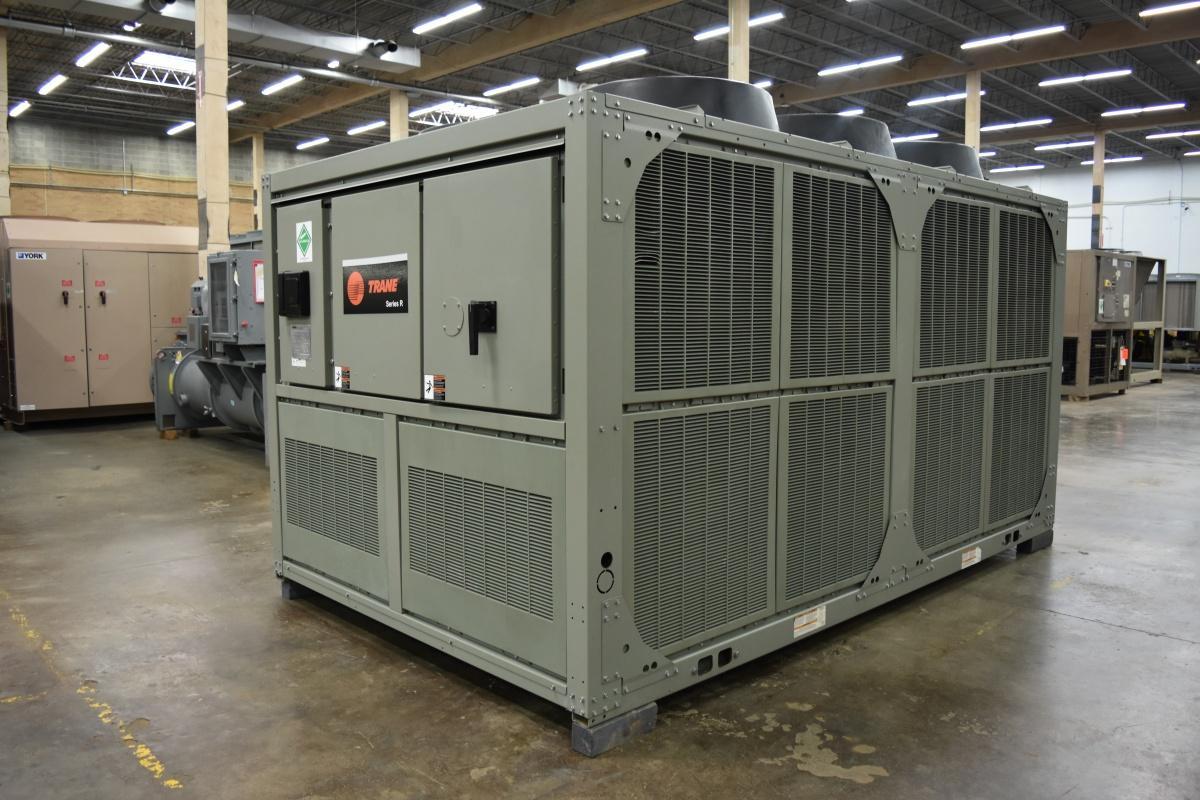 70 Ton Trane Air-Cooled Chiller Surplus Group