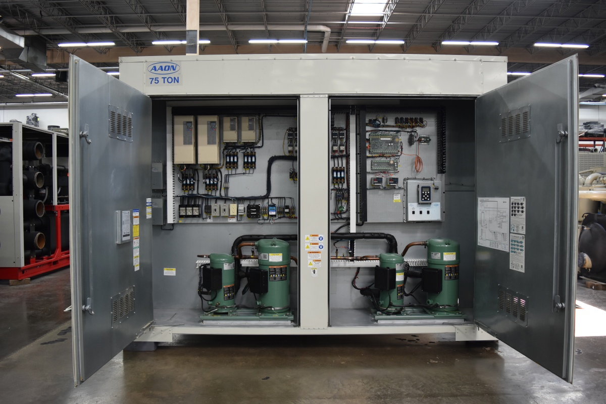 75 Ton AAON Air-Cooled Chiller Surplus Group
