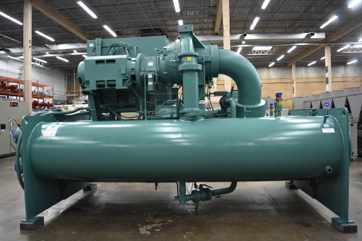 800 Ton York Water-Cooled Chiller Surplus Group