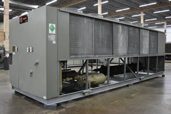 140 Ton Air Cooled Chiller Surplus Group