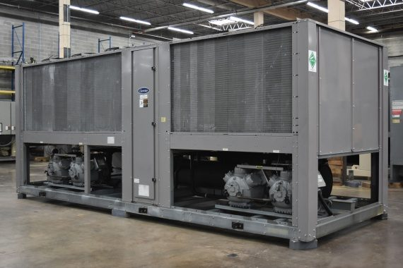 125 Ton Air Cooled Chiller Surplus Group
